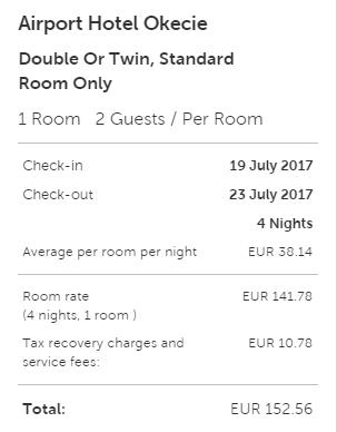 hotel 2 varsovia